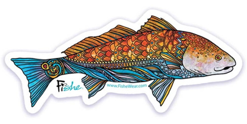 Fishe 'Radical Red Fish' Stickers