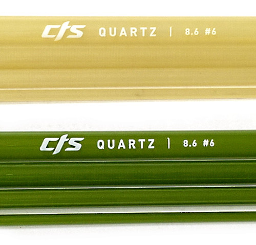 CTS Quartz CrystalGlass™ fiberglass Fly Rod Blanks