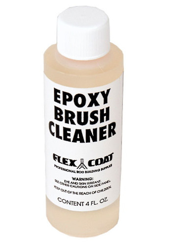 This is great stuff! This will extend the life of your quality finishing brushes 10 times. Flex Coat Epoxy Brush Cleaner