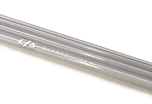 "CTS ""Smoke"" Quartz 8'0"" 4wt 4pc Fiberglass Fly Rod Blank"