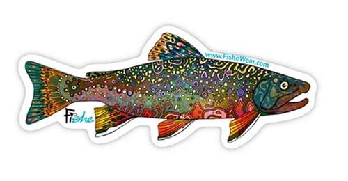 Fishe 'Brookie' Stickers