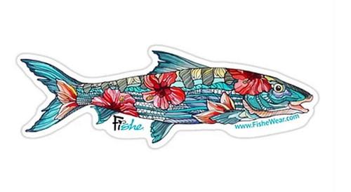 Fishe 'Beauty & The Bonefish' Stickers