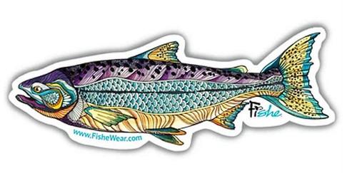Fishe 'Kaleido King' Stickers