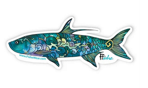 Fishe 'Totally Tarpon' Stickers