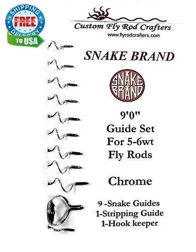 Snake Brand Universal Guide Set Chrome