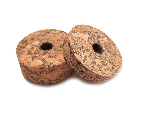 Brown Burl Cork Rings