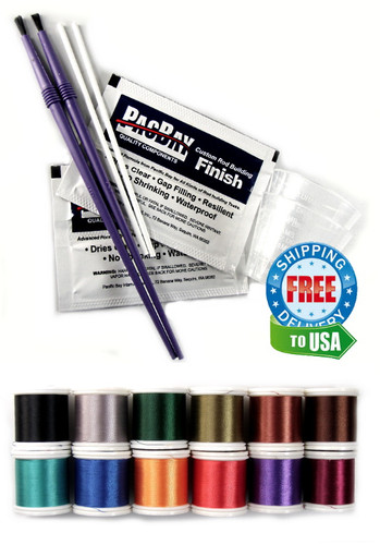 Replacement Guide Finishing Kit w/Nylon Thread