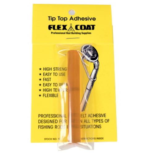 Thermal Plastic Tip Top Adhesive. Flex Coat tip top adhesive