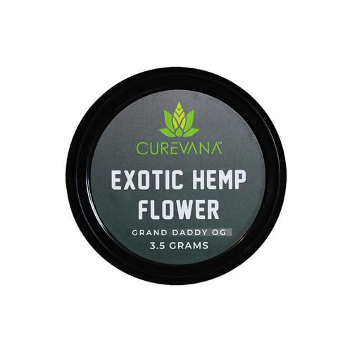 Curevana Exotic Hemp CBD Flower (3.5 Grams)