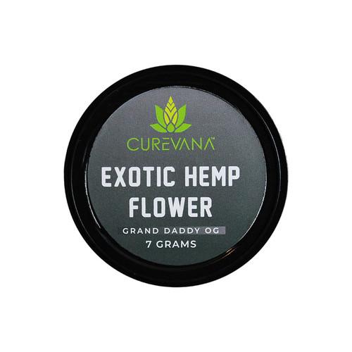 Curevana Exotic Hemp CBD Flower (7 Grams)