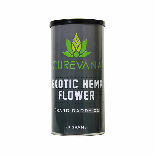 Curevana Exotic Hemp CBD Flower (28 Grams)