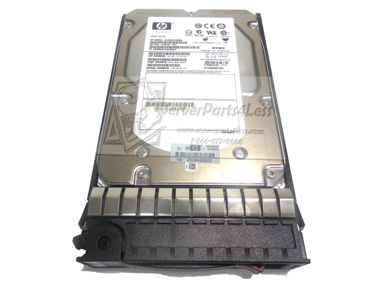 300GB SAS 15K 3.5 DP HDD