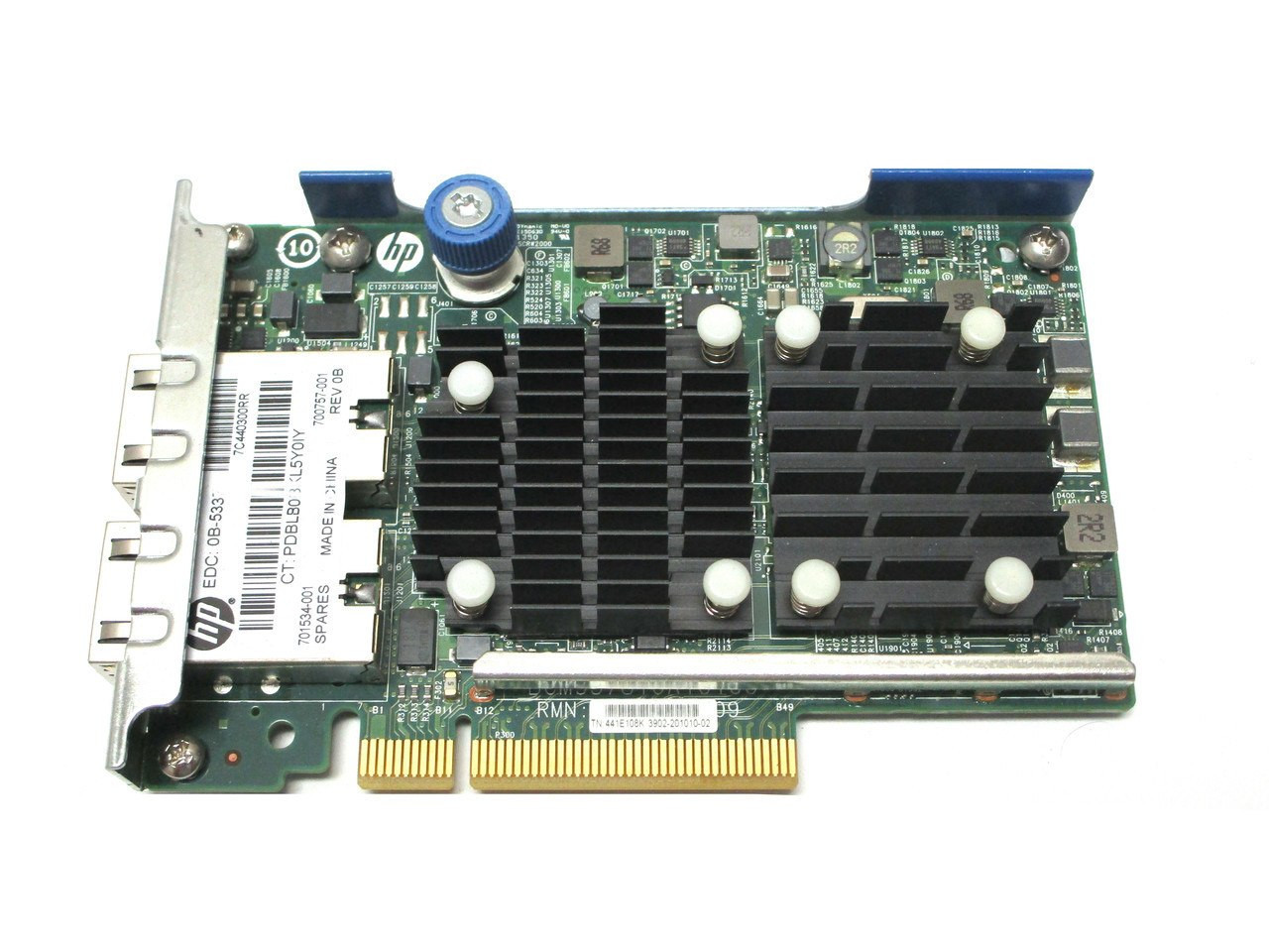 701534-001 HPE FlexFabric 2-port 10 Gbps 533FLR-T adapter700759-B21