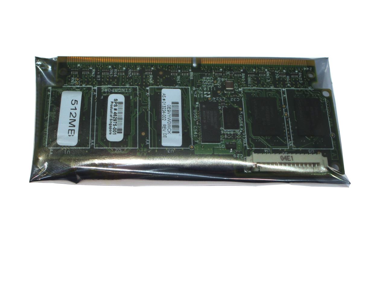 HP Smart Array 512MB BBWC Cache Memory Module for P212 P410 P411 462975-001