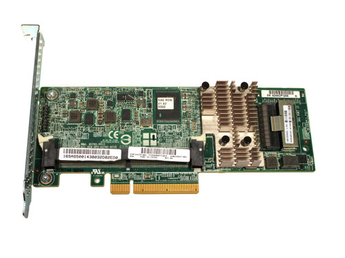PCIe3 x8 low profile SAS controller Has one internal x8 wide mini-SAS port For up to 6Gb//sec transfer rate for SAS HP 729635-001 Smart Array P430 controller board Does not include memory or backup power