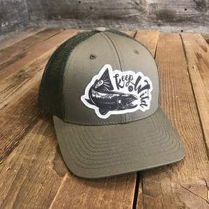 Keep 'Em Wild Trucker- Loden