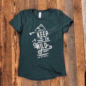 Keep 'em Wild Tee