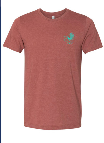 The Ruby River Tee- Burnt Sienna