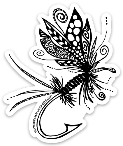 Festive Fly Sticker