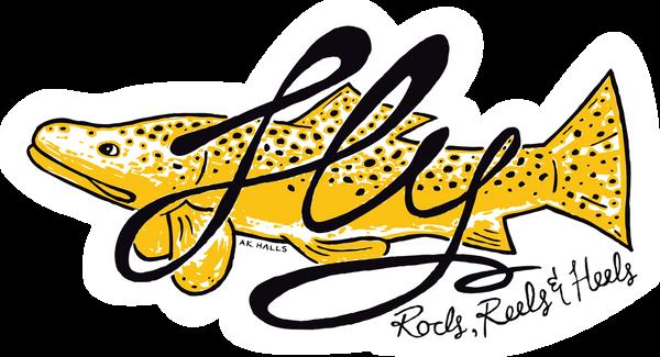 FLY Fish RRH Sticker