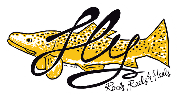 FLY Fish RRH Sticker