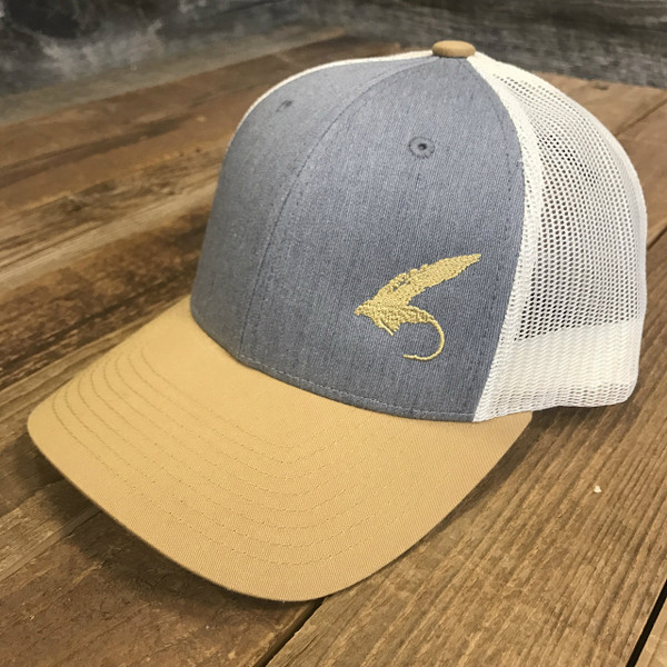 Fly Golden Rod Trucker hat