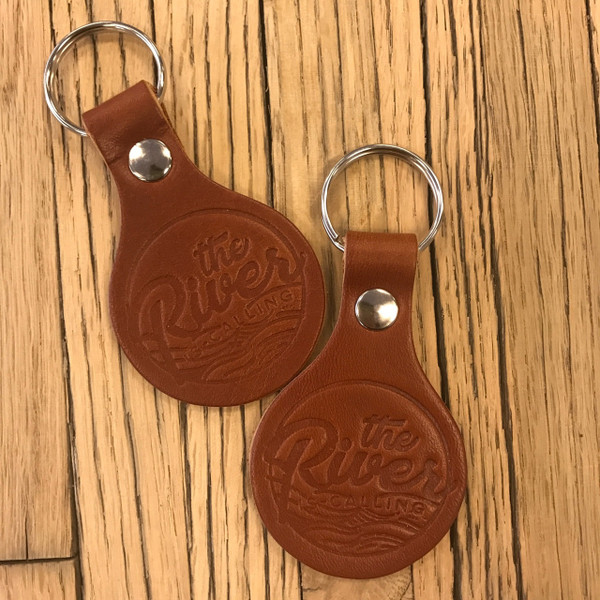 The River is Calling Key Chain