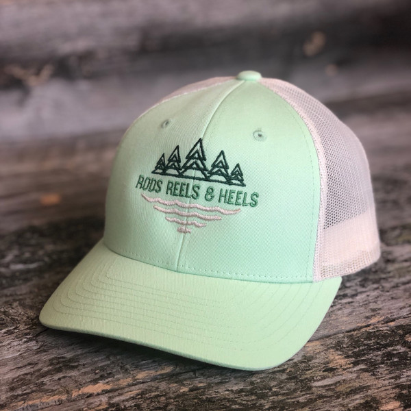 The Rios Trucker- Lime