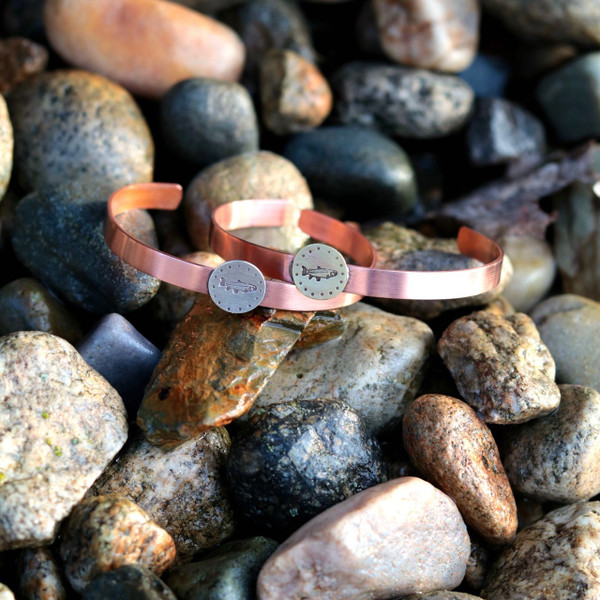 Trout Cuff Bracelet