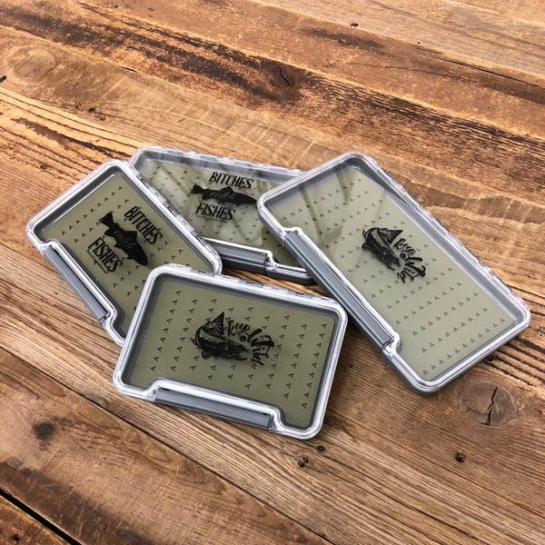 *NEW* Bitches Catch Fishes Silicone Fly Box