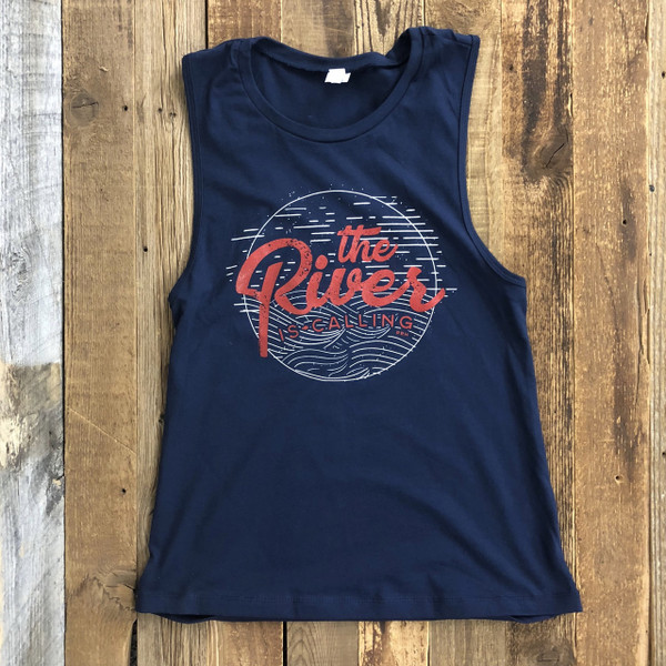 *LIMITED EDITION* The River is Calling Muscle Tnk