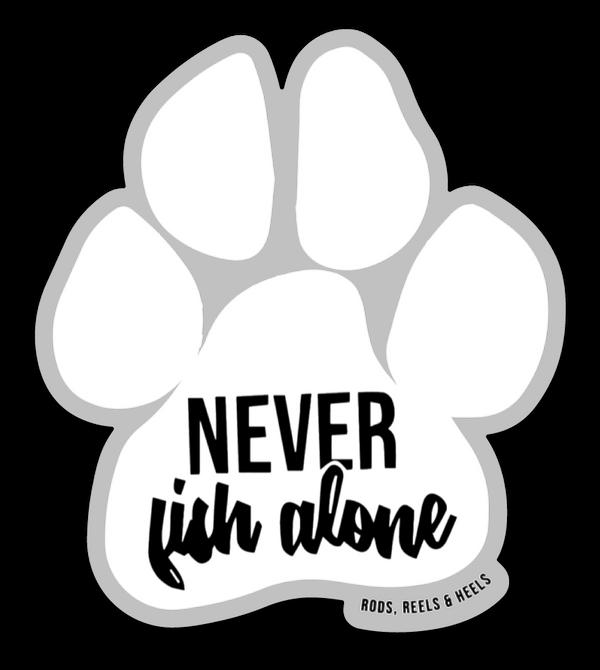 *NEW* Paw Sticker- White