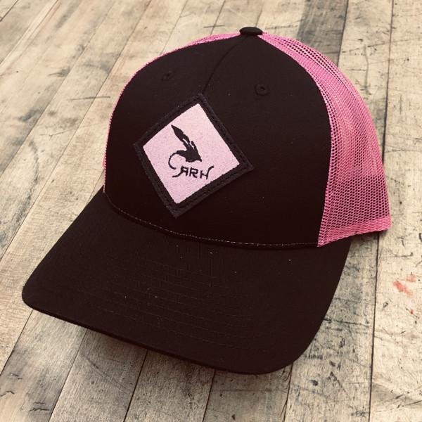 Montana Trucker-Black/Pink