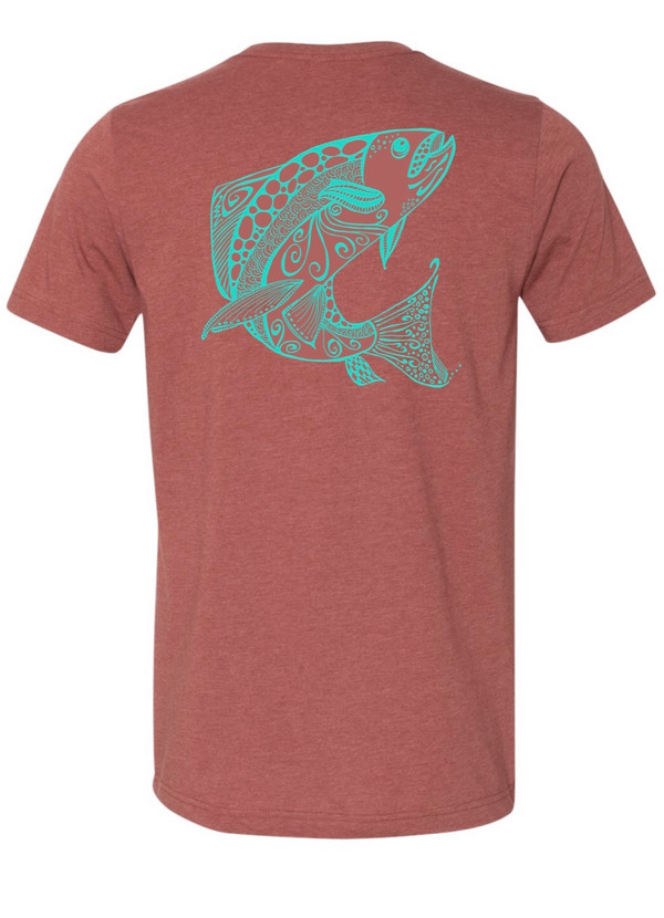 *NEW* The Ruby River Tee- Burnt Sienna