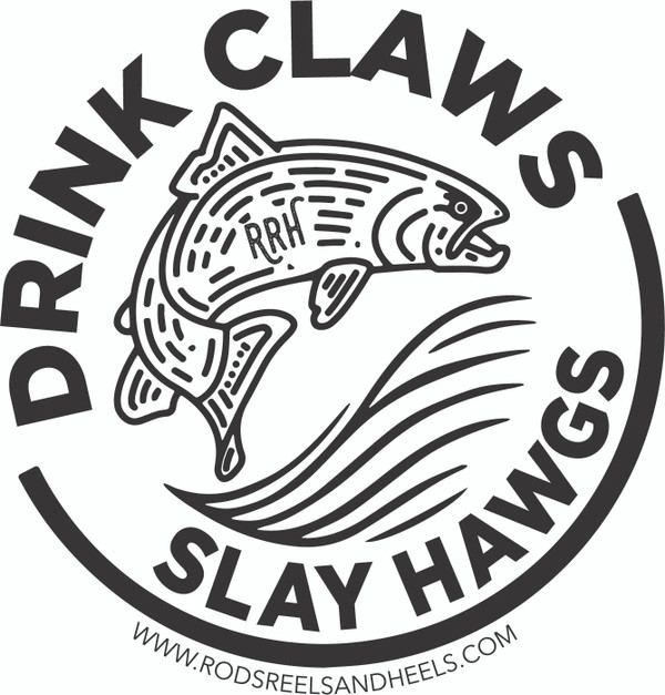 Drink Claws & Slay Hawgs Sticker