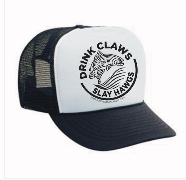 !!!NEW!!! Drink Claws, Slay Hawgs Foamie Trucker
