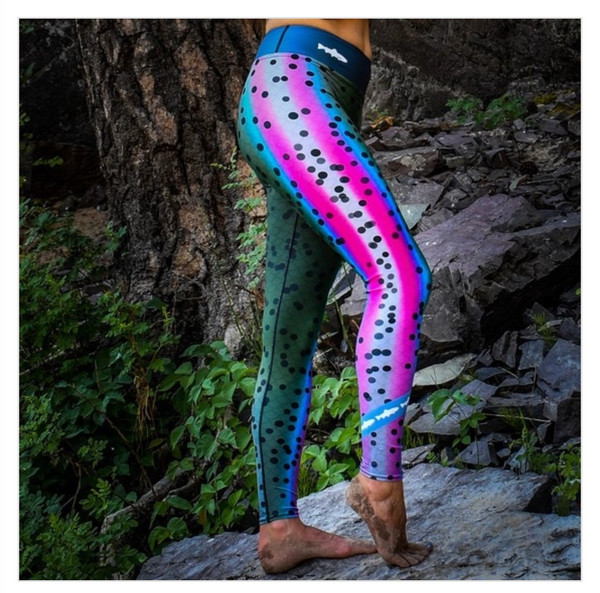 !New! RRH Pure Venatic Rainbow Trout Leggings