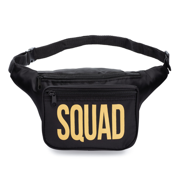 Squad fanny pack and belt