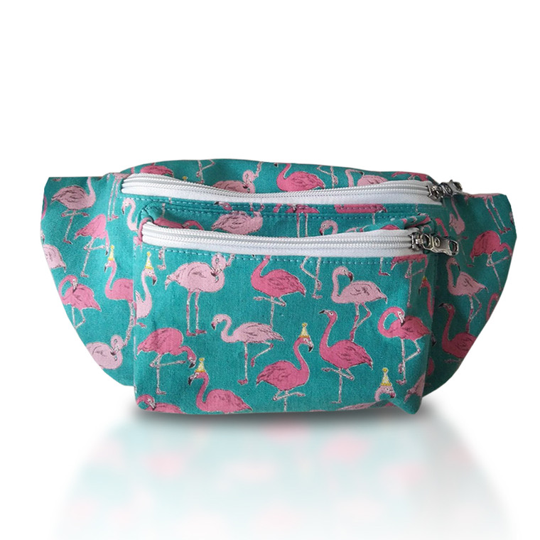 Flamingo Fanny Pack Front