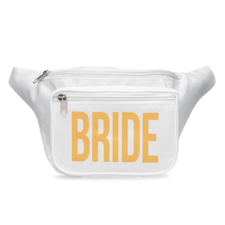 Bride Front In Metallic Gold