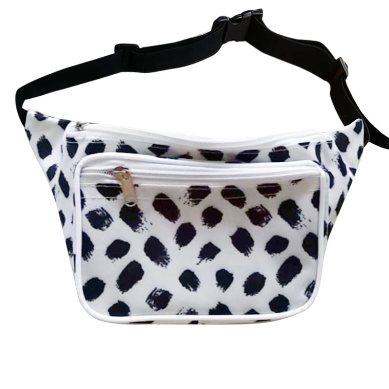 Cute Fanny Pack Polka Dot White Fanny Pack