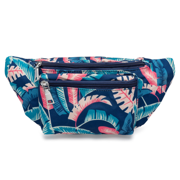Front of tropical fanny pack