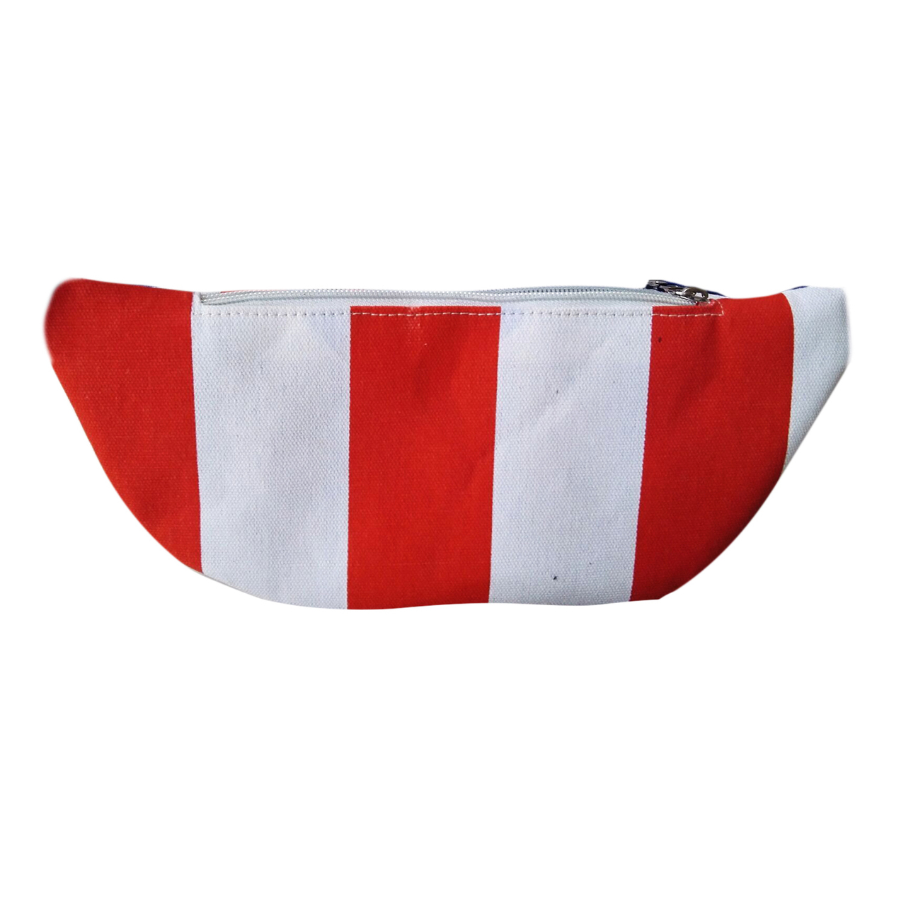 American Flag Fanny Pack  Patriotic Red White Blue Waist Pack