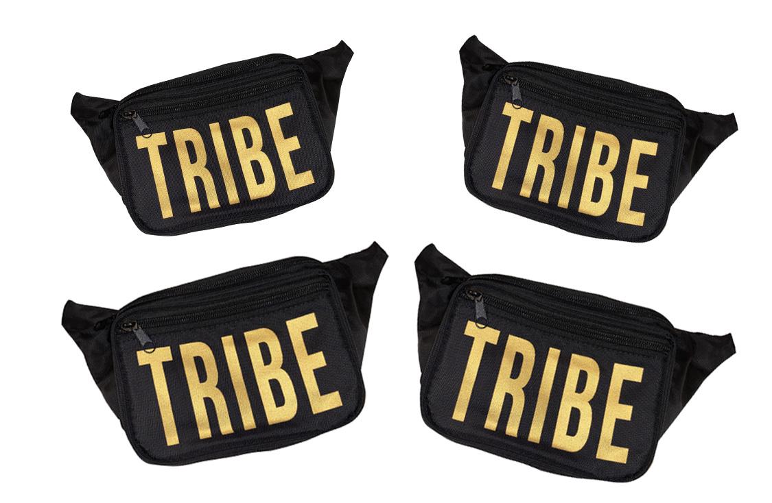 4 pack tribe fanny packs