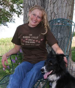 Crazy Dog Lady Short-Sleeve T-Shirt
