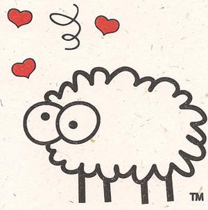 Love Ewe Note Card by Sheep Poo