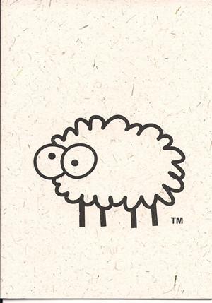 Ewe Note Card by Sheep Poo