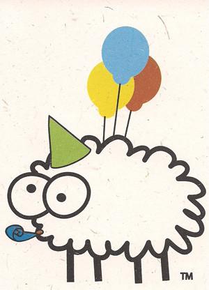 Birthday Card by Sheep Poo