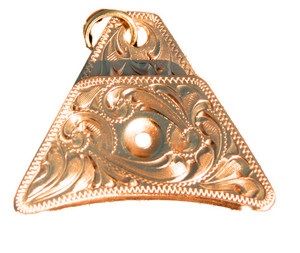 Engraved Sounder A Brass Whistle