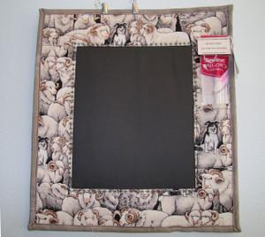 Chalk Memo Board - Grey Sheep
